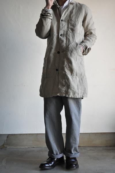 GARMENT REPRODUCTION OF WORKERS 1940'S Gardener Coat