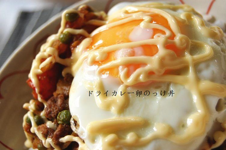 和風ドライカレー卵のっけ丼 & 行ってきま~す☆_d0104926_228363.jpg