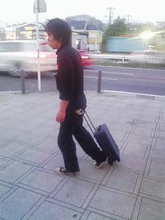 キャスター付き旅行バッグを、チューニングする。_a0163159_217720.jpg