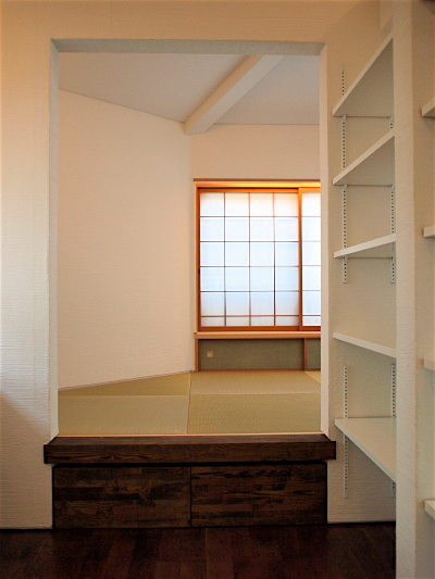 「国分寺の家」 2階、東南角の和室_f0230666_1319861.jpg
