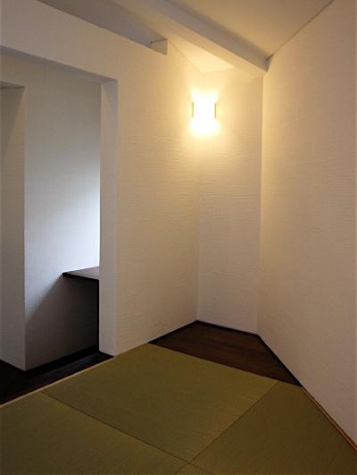 「国分寺の家」 2階、東南角の和室_f0230666_13226100.jpg