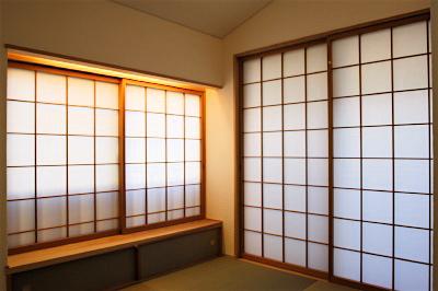 「国分寺の家」 2階、東南角の和室_f0230666_13263562.jpg