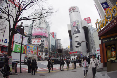 4月1日(木)今日の渋谷109前交差点_b0056983_11221816.jpg
