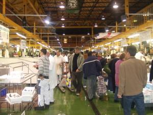 ロンドンの築地市場Billingsgate Fish Marketへ!しかし・・・_e0030586_2328420.jpg