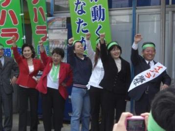 金武町長選・イケハラ勝啓さんの必勝を_f0150886_1713334.jpg