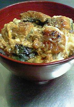 鰻玉丼♪_f0116812_8351280.jpg