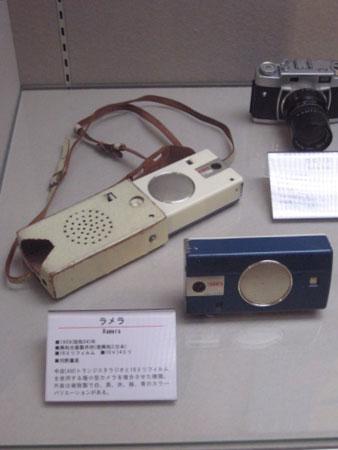 ラジオ付カメラ「ラメラ」に再会〜日本カメラ博物館にて〜_f0171840_15504049.jpg