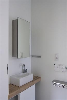 「蓮根の家」 テラス 洗面 手洗い_f0230666_17281491.jpg