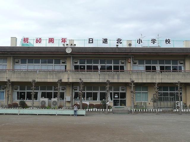 日進北小学校60周年記念看板完成...