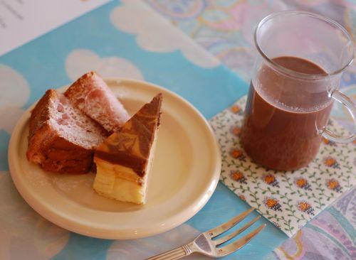 マーブルチョコチーズケーキ編_f0224567_2384733.jpg