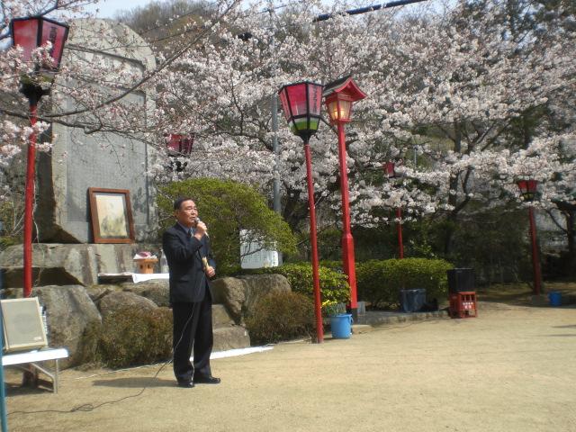 井戸公桜祭り・・・・・_b0152548_1233387.jpg