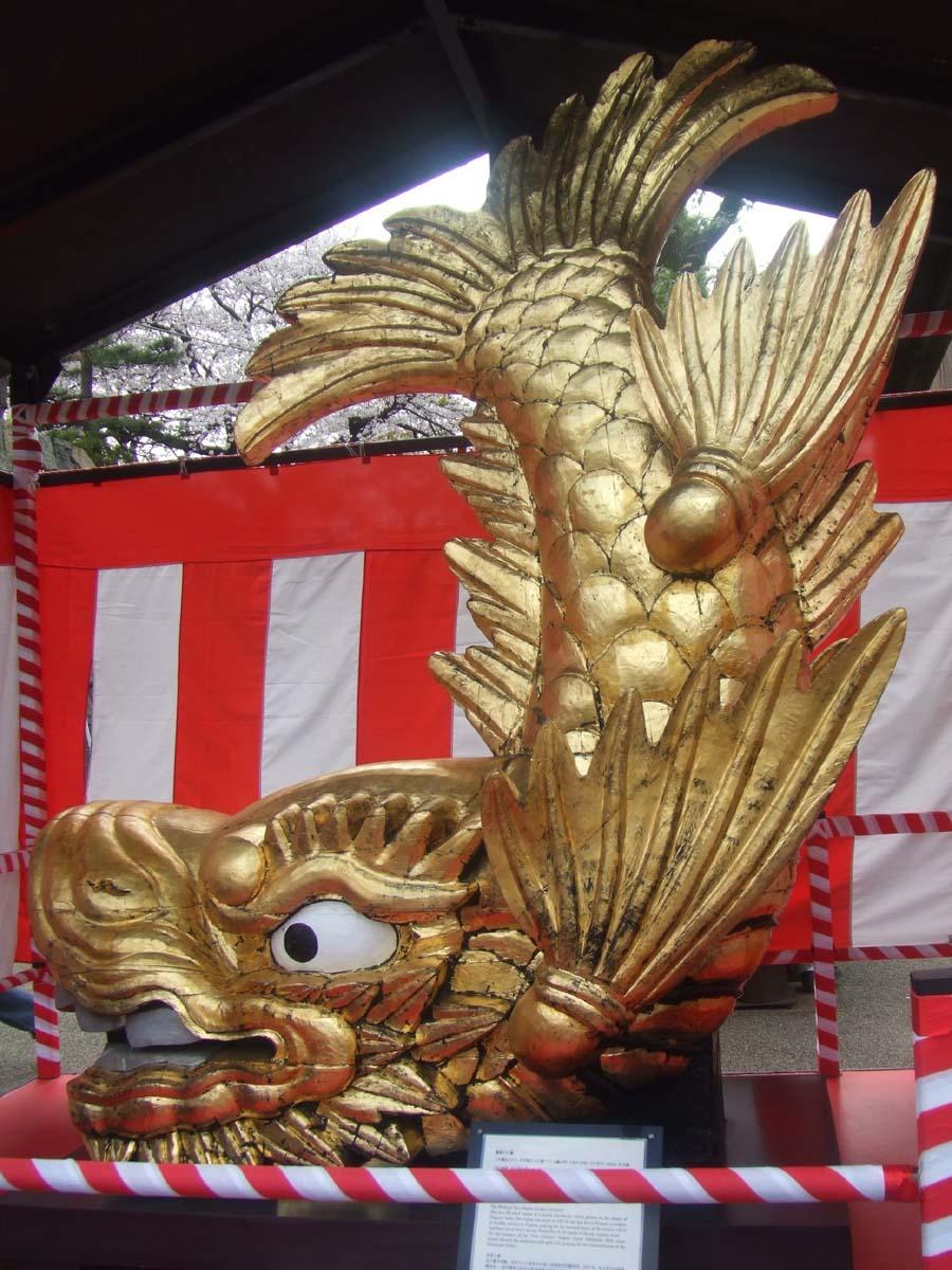 名古屋城へお花見&アレルギー症状で救急病院へ_c0007919_13333781.jpg