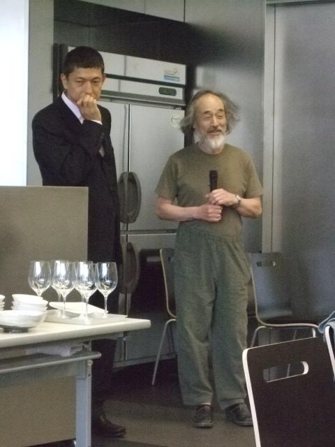 中里隆さん「陶芸家のおもてなし」に参加させてもらいました。_f0144646_97134.jpg