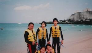 ★家族旅行★in沖縄 …初めてのシュノーケリング_d0082356_1053466.jpg