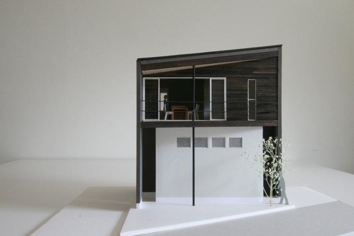 横浜の住宅:模型。_c0196892_312765.jpg
