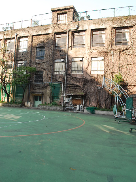 東京都台東区立旧下谷小学校(昭和モダン建築探訪)_f0142606_1922104.jpg