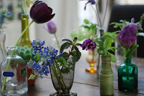 パープルのお花いろいろアレンジ_f0179528_2335296.jpg