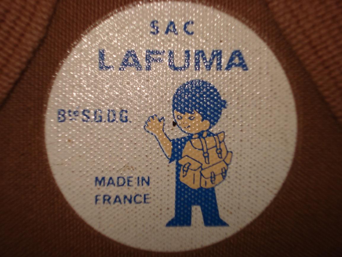 Vintage LAFUMA フレームリュックサック_f0226051_181745100.jpg