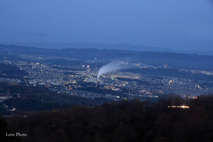 若草山の夜明け_a0116472_0572934.jpg
