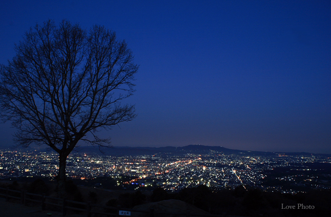 若草山の夜明け_a0116472_9152569.jpg