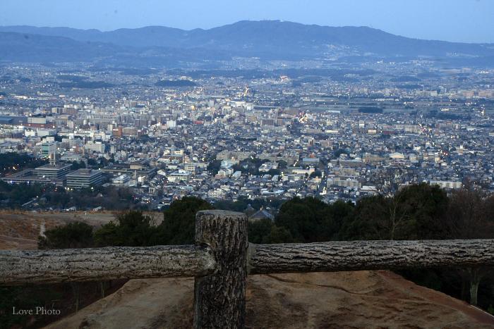 若草山の夜明け_a0116472_9194238.jpg