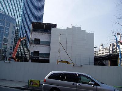 さよなら交通博物館 建物の解体状況(5)_f0030574_13232182.jpg