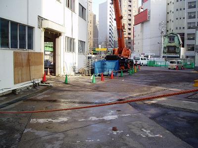 さよなら交通博物館 建物の解体状況(5)_f0030574_22111320.jpg