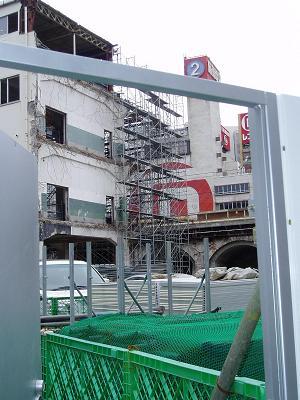 さよなら交通博物館 建物の解体状況(5)_f0030574_2255516.jpg