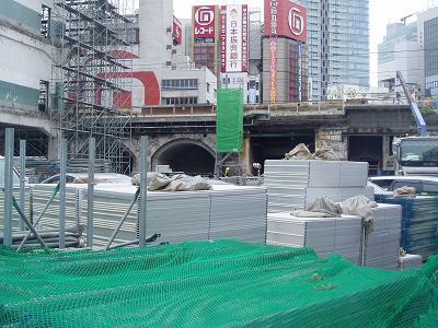 さよなら交通博物館 建物の解体状況(5)_f0030574_2264024.jpg