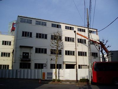 さよなら交通博物館 建物の解体状況(5)_f0030574_2271994.jpg