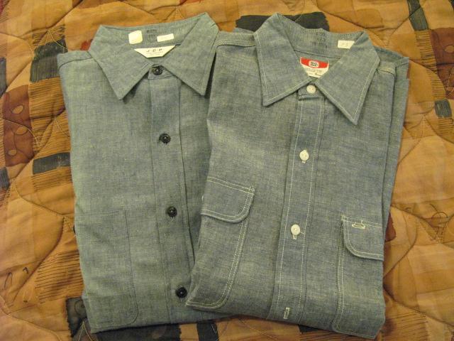 アメリカ仕入れ情報#11 60'S Deadstock シャンブレーシャツ!_c0144020_1355785.jpg
