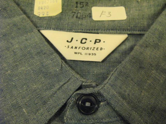 アメリカ仕入れ情報#11 60'S Deadstock シャンブレーシャツ!_c0144020_1362512.jpg