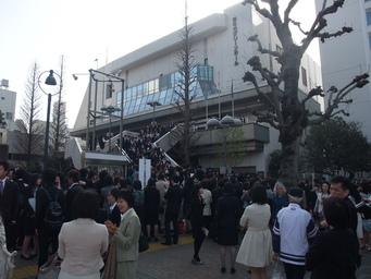 東京外国語大学大学院 入学式 2_b0183063_15145442.jpg