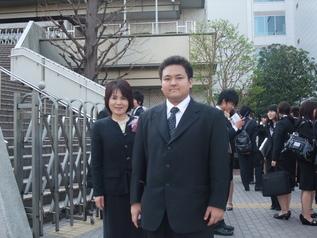 東京外国語大学大学院 入学式 2_b0183063_15154583.jpg