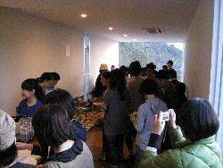 喫茶 陶花 柿豚料理会。_f0018099_221228.jpg