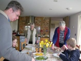 Ian&Nicola house for Easter lunch♪ _a0138438_202530.jpg