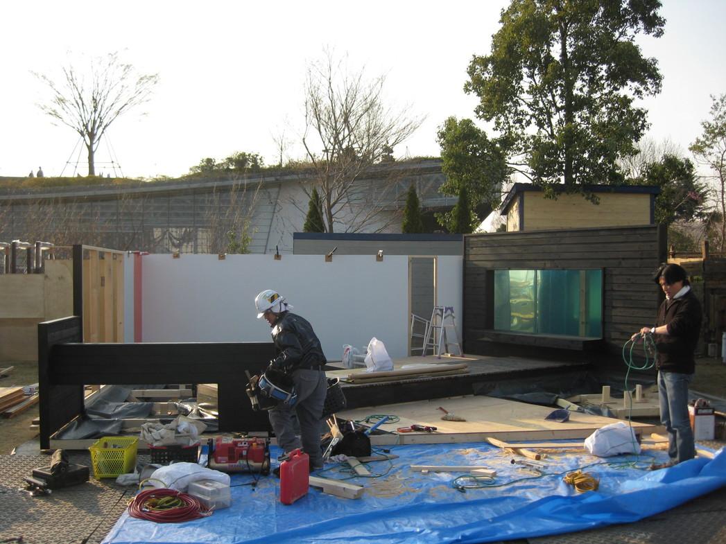 ガーデンショー進捗状況3日目_e0128446_18223570.jpg