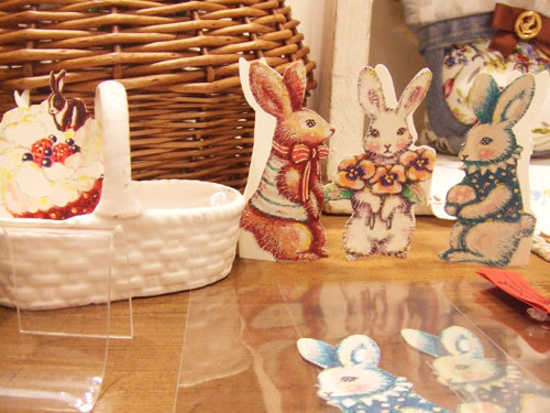 『Bunnies and Baskets』展_f0223074_527541.jpg