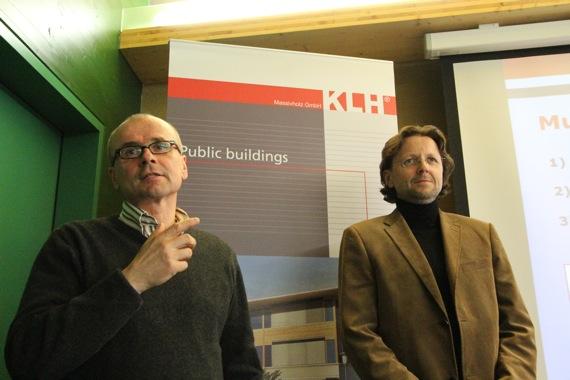 '10オーストリア・スイスのパッシブハウス・木造多層階研修10 KLH社1_e0054299_1731230.jpg