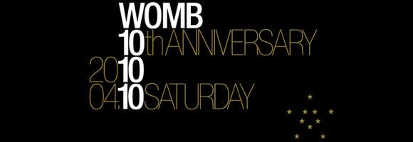 祝☆渋谷WOMB 10th anniversary! _b0032617_1363363.jpg