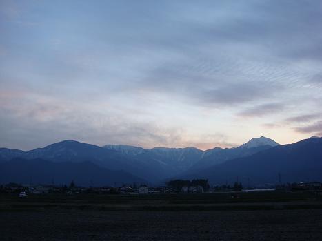 夕焼けがきれいに見えたから_a0014840_22485597.jpg