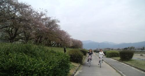 家族でサイクリングin室見川_d0082356_17245380.jpg
