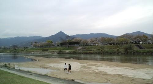 家族でサイクリングin室見川_d0082356_17253146.jpg