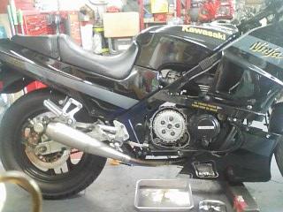 GPZ400R クラッチ滑り修理_a0163159_033069.jpg