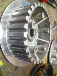 GPZ400R クラッチ滑り修理_a0163159_055197.jpg