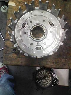 GPZ400R クラッチ滑り修理_a0163159_05870.jpg