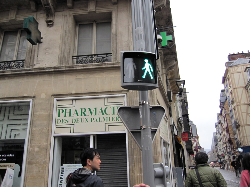 フランスへGO♪♪^^♪♪ 〜3/21〜ルーアンの街並〜_f0119369_939088.jpg