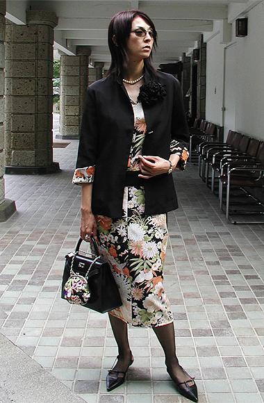 お洋服とバッグがおソロ〜♪_f0170519_2235131.jpg