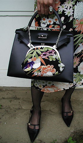お洋服とバッグがおソロ〜♪_f0170519_2236929.jpg