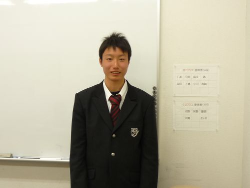 高校生の入学式_b0164659_1224407.jpg